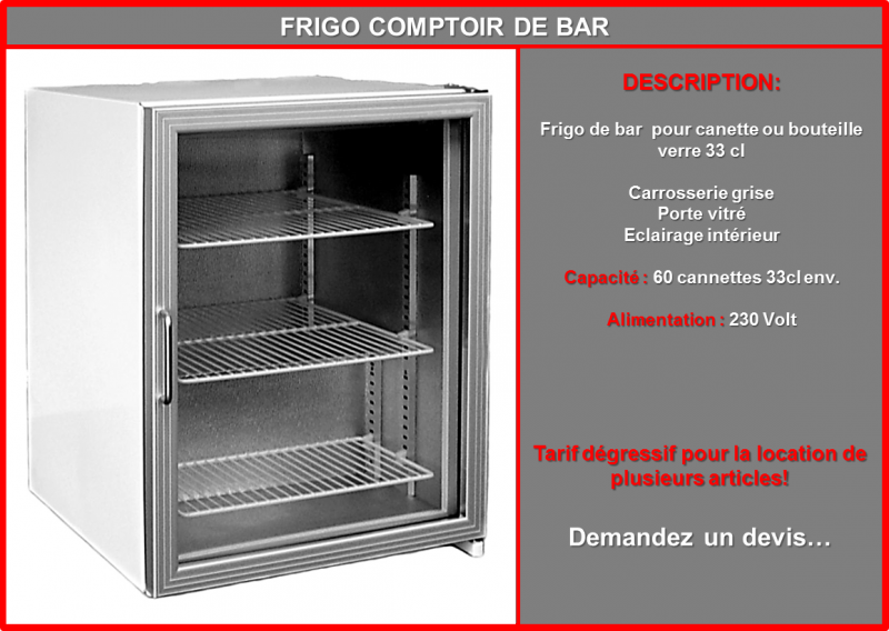 Prez frigo bar