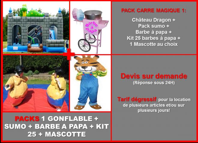 Prez pack carre magique 5