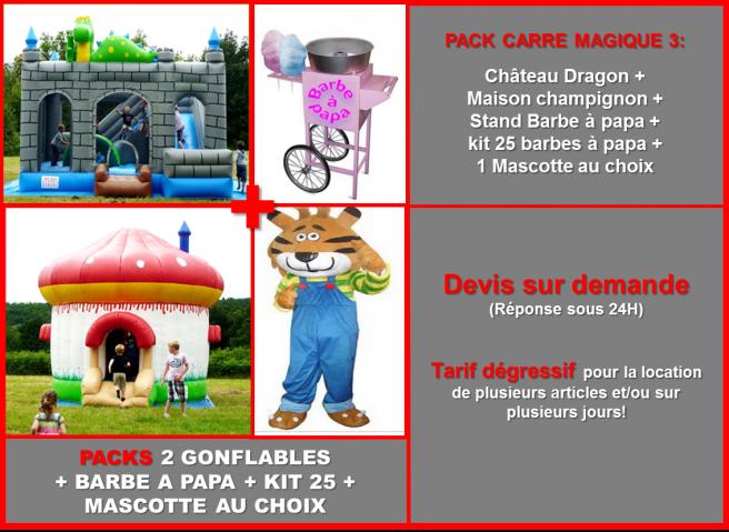 Prez pack carre magique 7