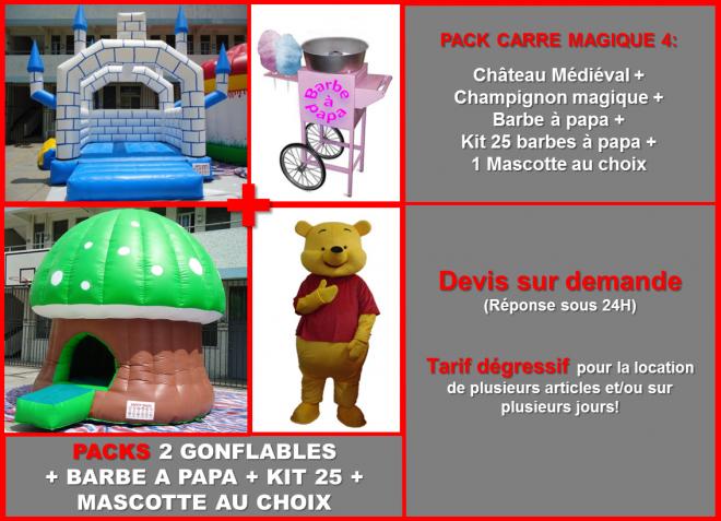 Prez pack carre magique 8