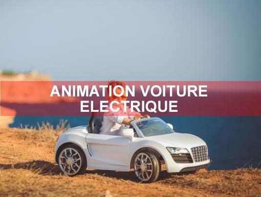 Animation voiture electriqu