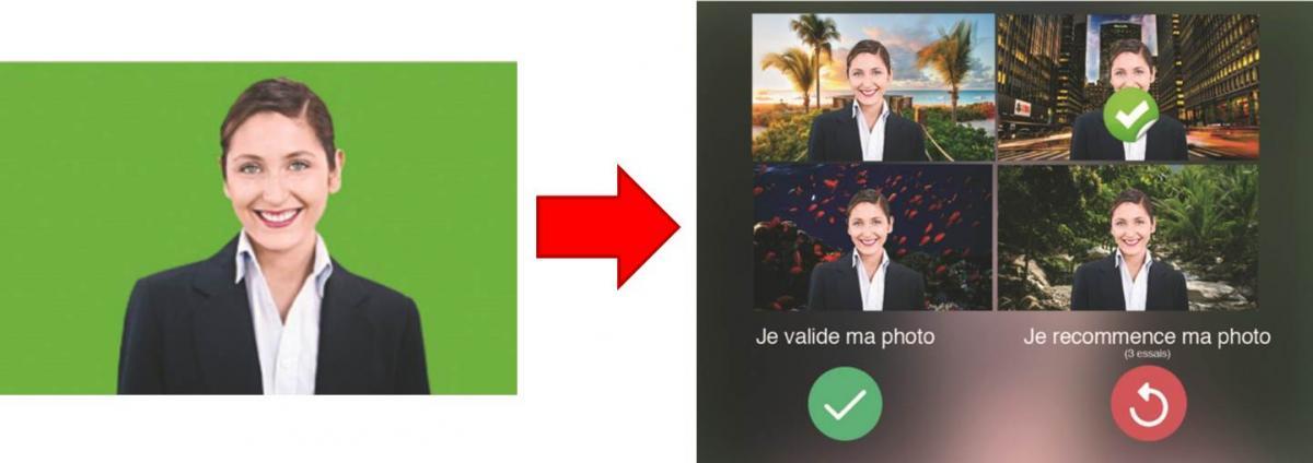 Fond vert