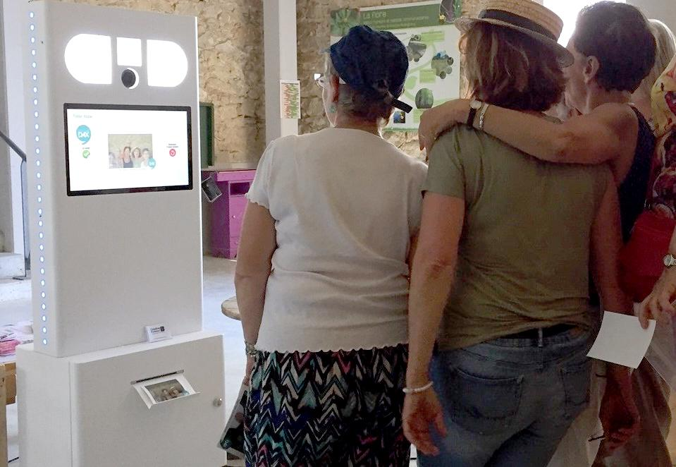 location photobooth borne photo pays basque landes