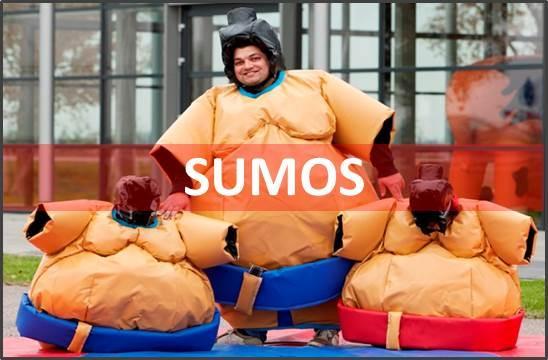 Location jeu sumos mousse gonflables