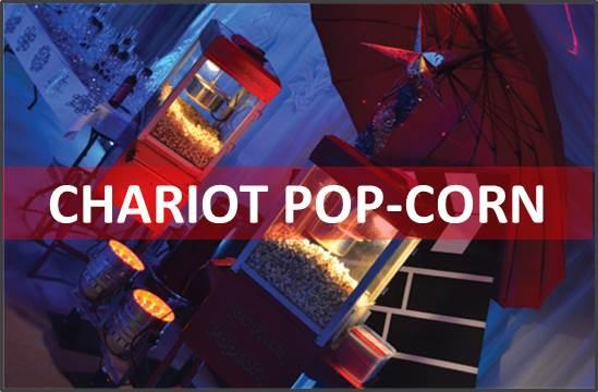 Page location chariot pop corn