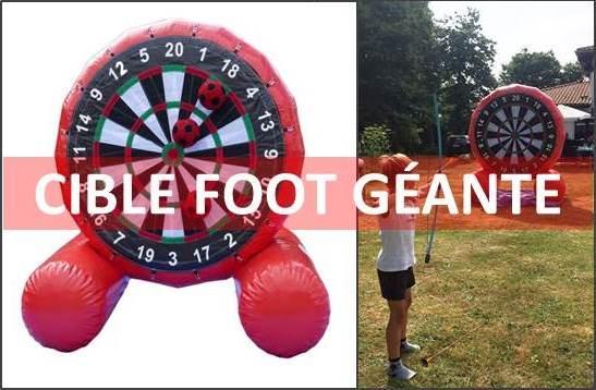 Page location cible foot geante